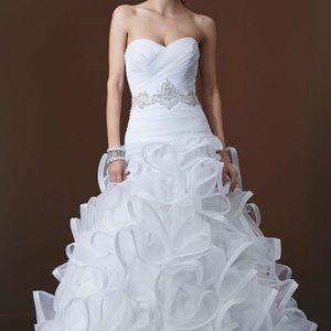 Ball gown white wedding dress
